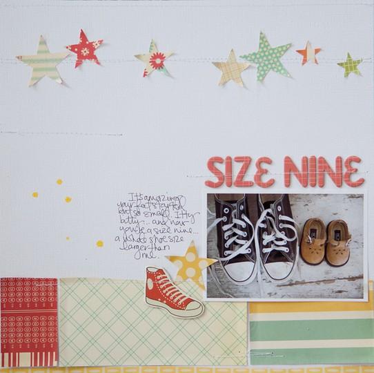Size nine