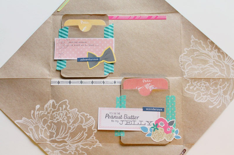 Patterned paper stationery