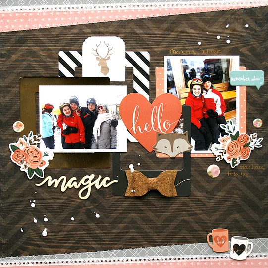 Mliedtke scraptastic november feels like home magic z strip original
