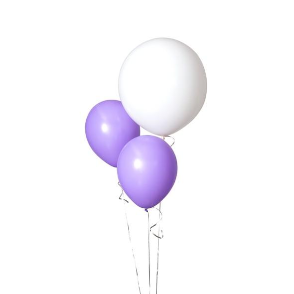 Sdiy shop balloons round white original