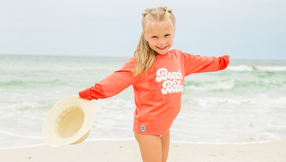 152621 beach babe long sleeve sun shirt kids coral slider2 original