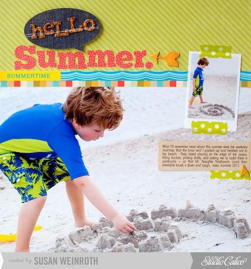 3   hello summer   susan weinroth