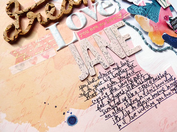 Dream detail 1 by paige evans original