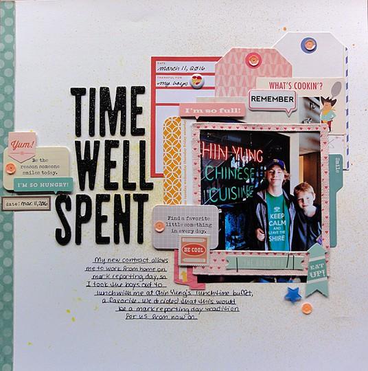 Time well spent by jennifer larson original