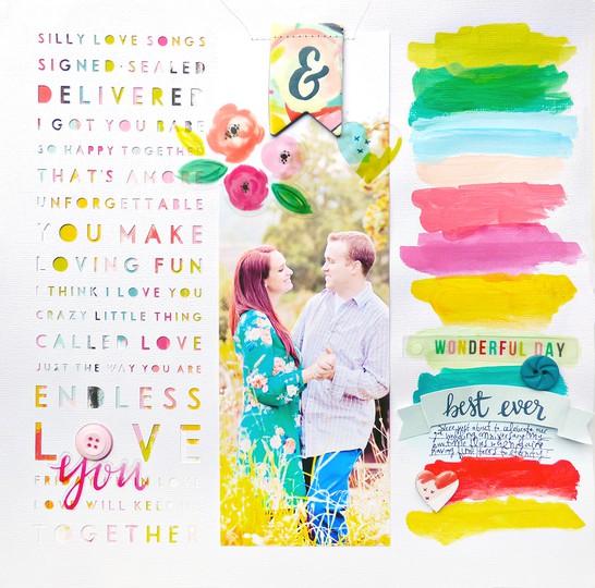 Love you by paige evans original