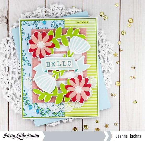 Floral hello original