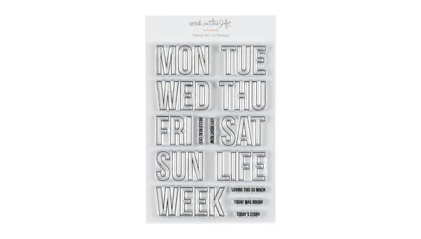 74603 witldaysoftheweek4x6stampset slider original