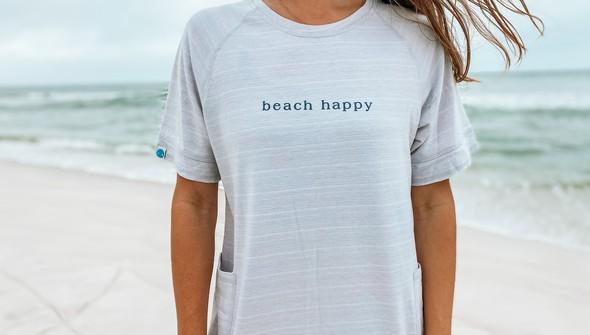 121977 simple beach happy french terry dress women oatmeal slider3 original