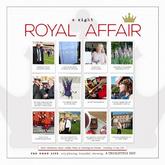 A right royal affair 700 original