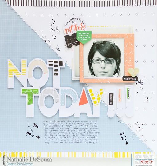 Sn not today%2521%2521%2521 nathalie desousa original