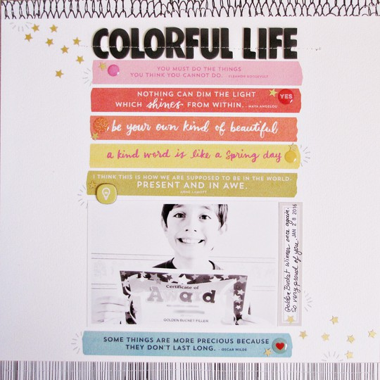 Colorful life   sc original