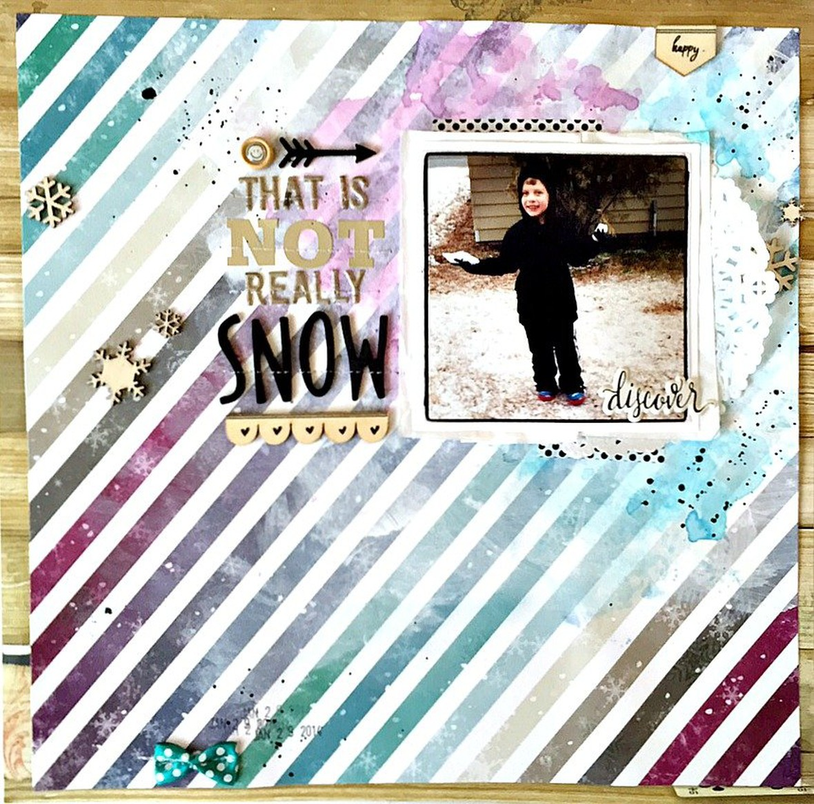That is not really snow layout   ls original