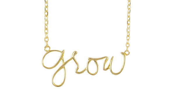 Ae olw shop necklaces grow gold slider original