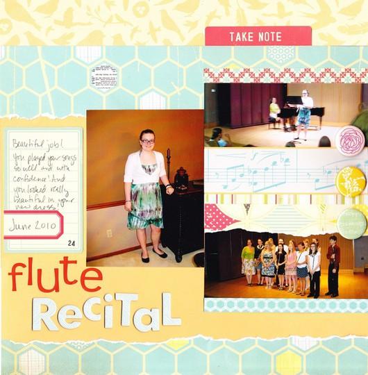 Flute recital 2010