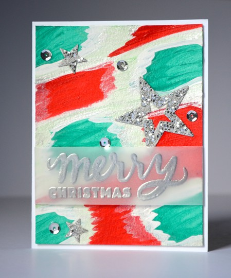 Merry christmas xs1 card original