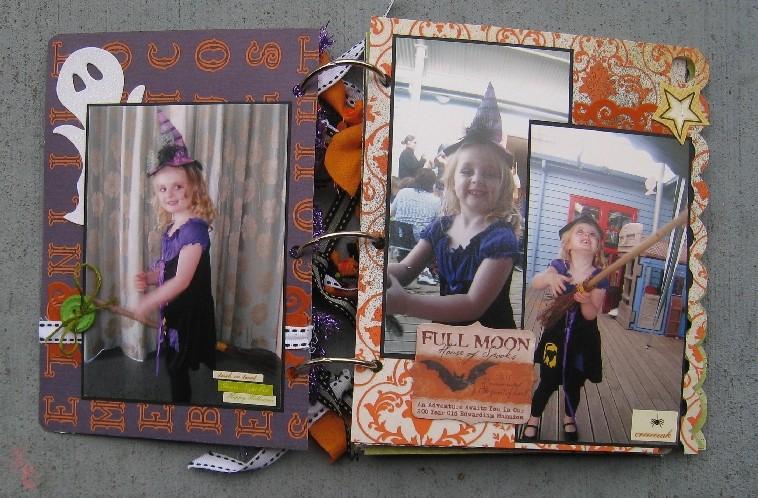Halloween mini album 003