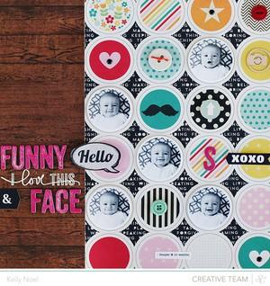 Funny face   studio calico cuppa kit   kelly noel