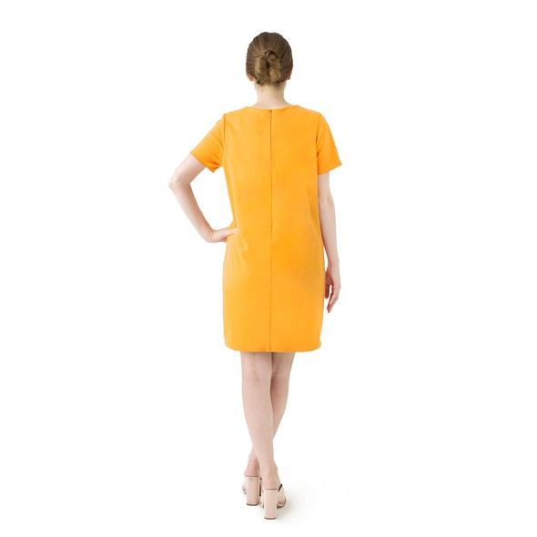 Orange dress product listing backnew original
