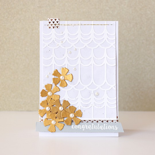 Congratulations card by natalie elphinstone original