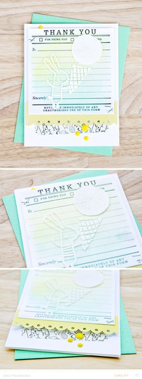 Thank you card pixnglue long original