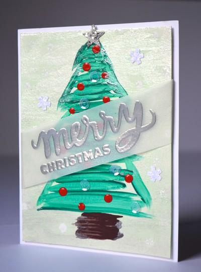 Merry christmas xs2 card original
