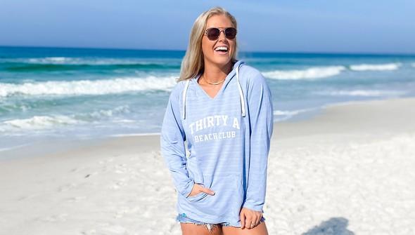 146334 thirtya beach club french terry bonfire hoodie women dusty blue slider1 original