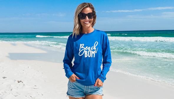 152356 beach bum long sleeve sun shirt women royal slider1 original