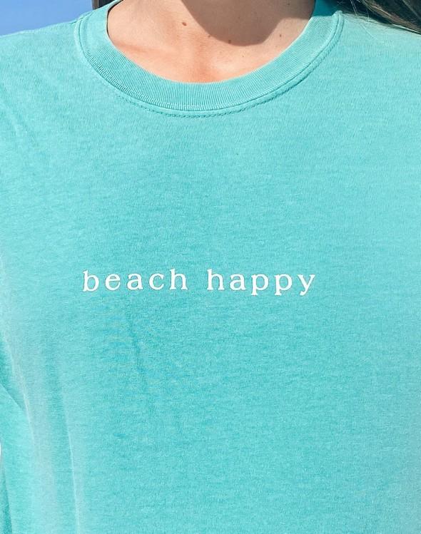 154075 simple beach happy comfort colors short sleeve tee seafoam women slider 2 original