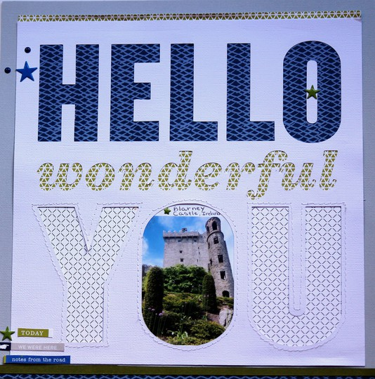 Hello wonderful you blarney castleuploadable image original