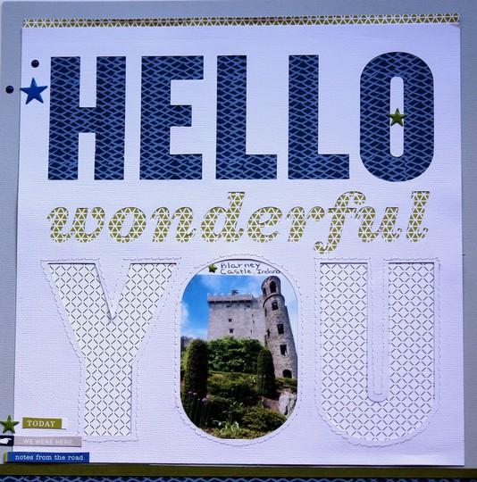 Hello wonderful you blarney castleuploadable image original