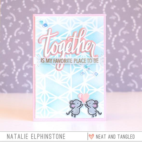 Together card by natalie elphinstone original