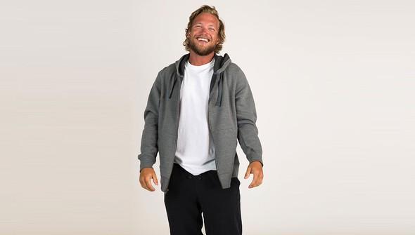 Basic fullzipsweatshirtmen gray slider1 original