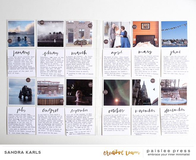Paislee monthly vol 5 projectbysandrakarls 2 original