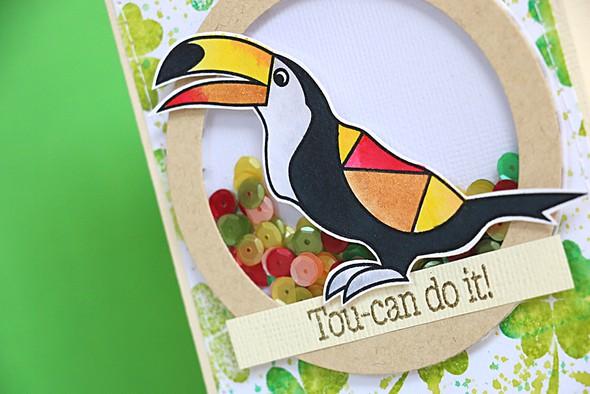 Toucan do it bird by natalie elphinstone original