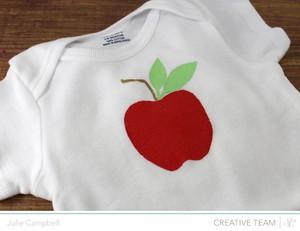 Apple onesie