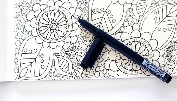 Smitha katti hand drawn florals1 original