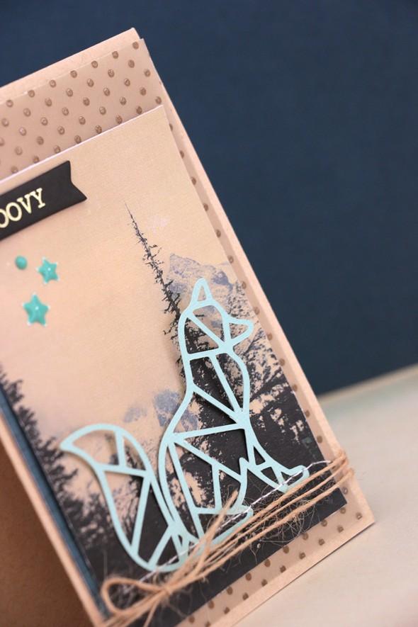 Groovy card detail by natalie elphinstone original