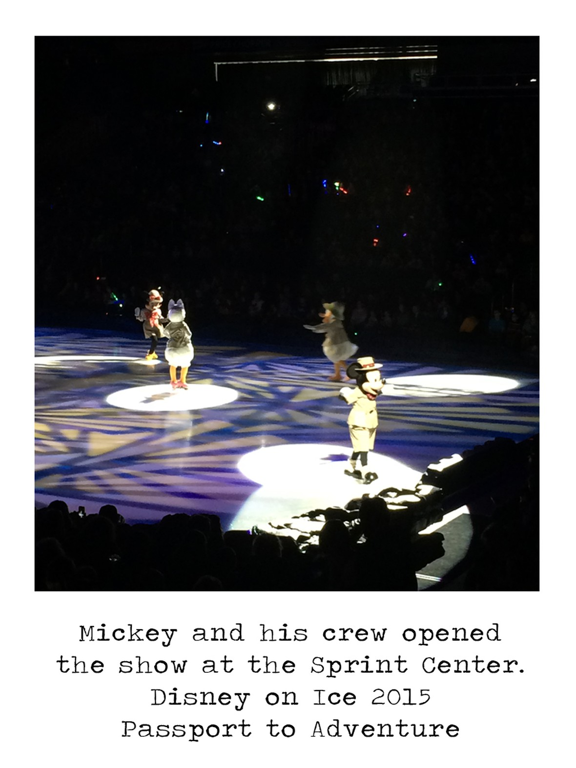 Mickey and friends disney on ice 2015 original