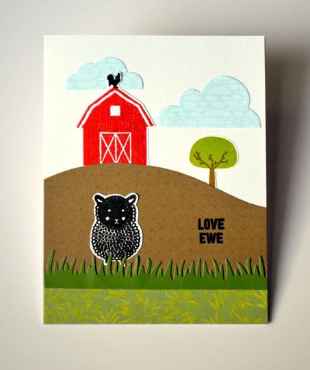 Love ewe card original
