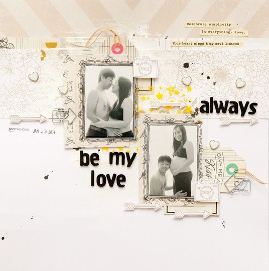 Always be my love by evelynpy