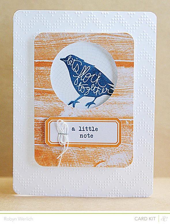 Rwerlich card flock