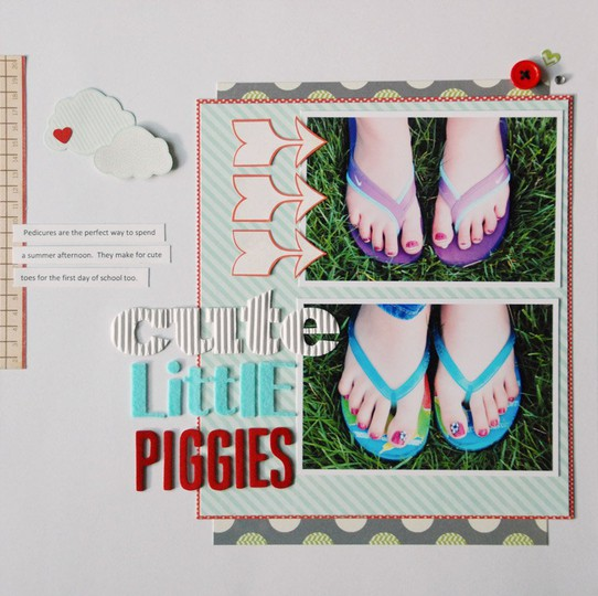 Cute litte piggies