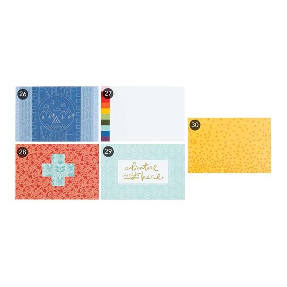 Jan 2018 summit shop dm 4x6 cards numbers original