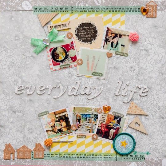 Everyday life by evelynpy