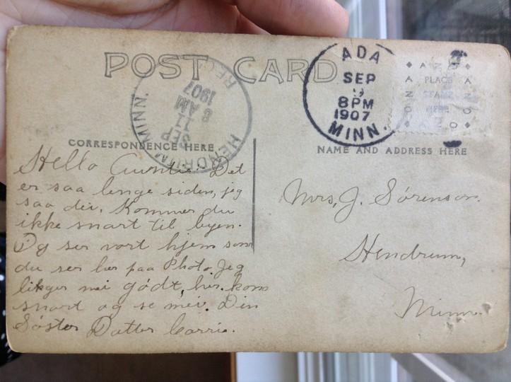 1907 postcard mrsjohnsorenson
