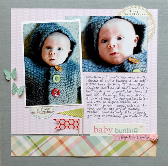 Baby bunting   post