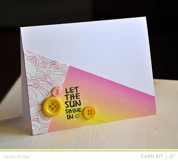 Let the sun card (outer banks add on)