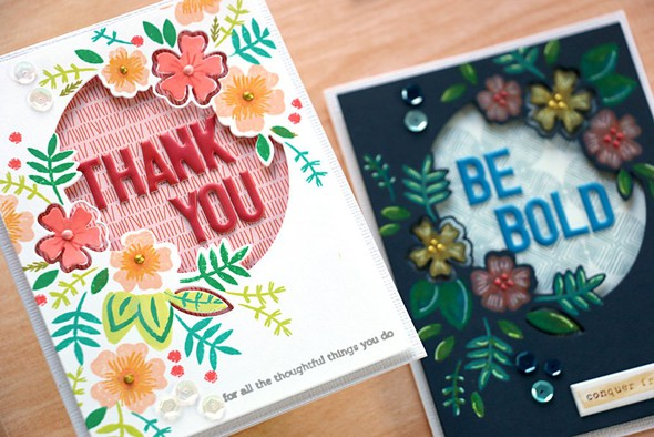 Say it with florals cards original