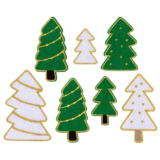 Picture of December Daily® 2021 Felt Trees