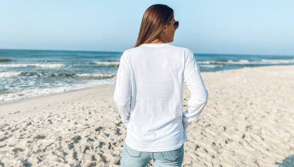 119010 beach merry stripes long sleeve tee women white slider5 original